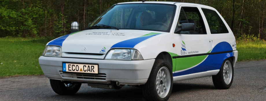 Unser EcoCar AX in Aktion